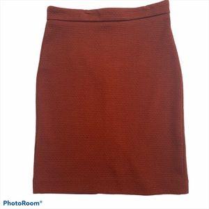 Ann Taylor Loft Stretch Pencil Skirt Textured